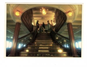 Legendary Delta Queen Steamboat, Interior Stairs