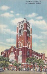 Florida St Petersburg First Methodist Church Curteich
