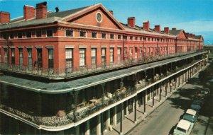 Postcard Pontalba Apartments New Orleans Louisiana