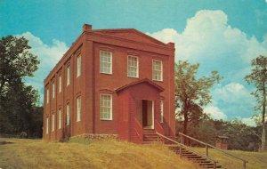 SCHOOL HOUSE Columbia State Park, CA Tuolumne County c1950s Vintage Postcard