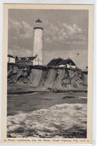 Le Phare Lighthouse, Gaspe PQ