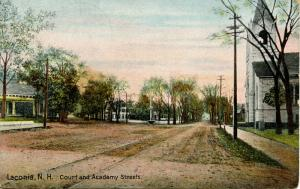 NH - Laconia. Court & Academy Streets