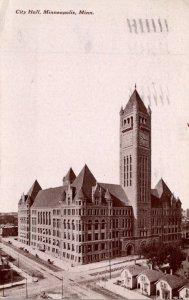 Minnesota Minneapolis City Hall 1909