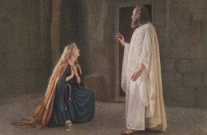 Passionsspiele Oberammergau , Germany , 1922 ; Jesus erscheint Magdalena