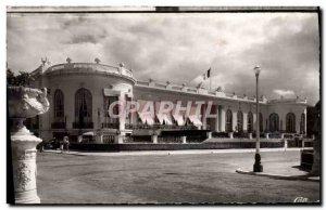 Old Postcard Deauville flowered Beach Casino