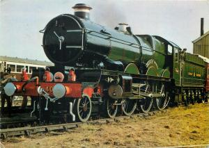 Pendennis Castle at Didcot train locomotive