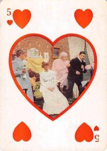 Wedding Party 5 Of Hearts Scene Antique Postcard K7876530