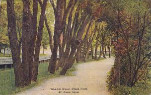 Willow Walk, Como Park, St. Paul, Minnesota, PU-1910