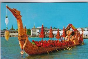 Thailand Bankok The Supannahonge Thai Royal State Barge