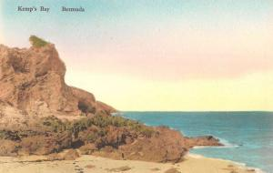 Kemps Bay Bermuda Rocky Shoreline Antique Postcard K65710
