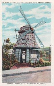LOS ANGELES , California , 1900-10s ; Windmill Store No 1