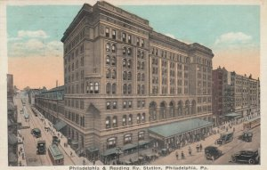 PHILADELPHIA, Pennsylvania , 1900-10s; Philadelphia & Reading Railroad Station