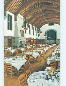 Unused Pre-1980 MASONIC HOMES DINING ROOM Elizabethtown Pennsylvania PA B8957