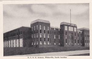 Exterior View, N.C.N.G. Armory, Whiteville, North Carolina, 40-60's
