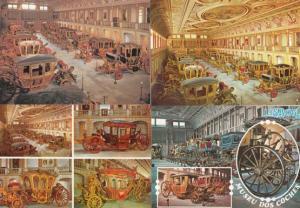 Lisboa Portugal Coach Museum Transporation 4x Postcard s