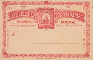 Card , 2 Centavos , HONDURAS , 1890s