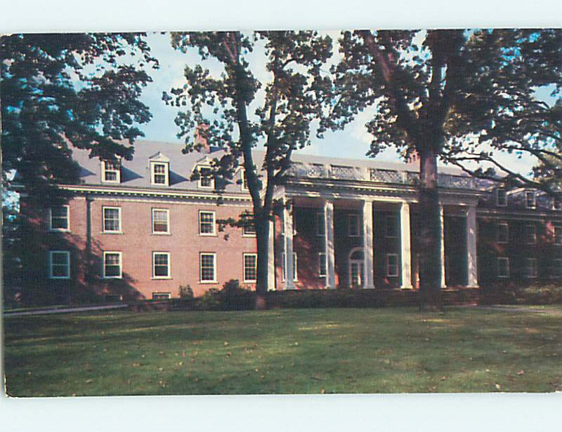 Pre 1980 Susanna Wesley Hall At Albion College Albion Michigan Mi L9203 Hippostcard