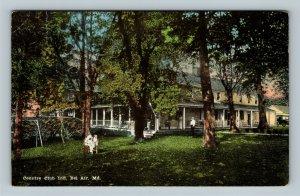 Bel Air MD, Country Club Inn, Vintage Maryland c1924 Postcard