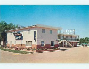 Unused Pre-1980 EDGEWATER MOTEL Chamberlain South Dakota SD s7977