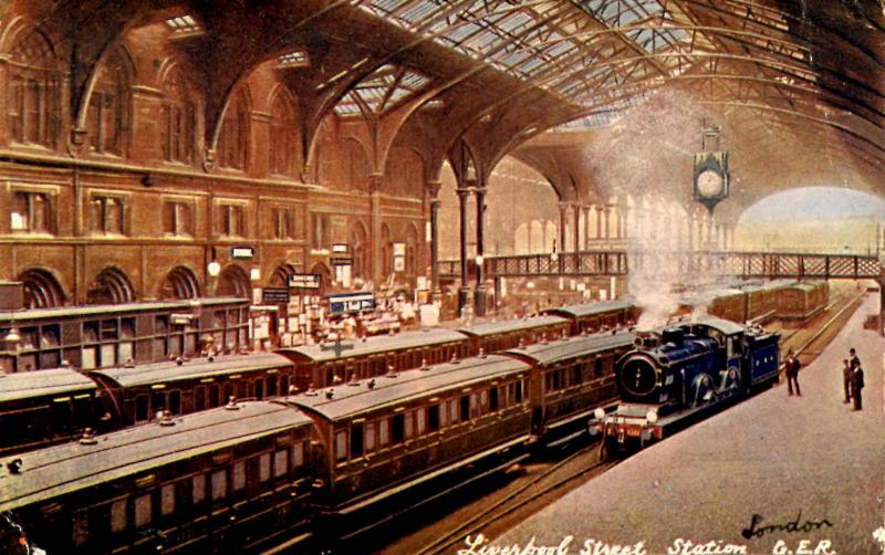UK - England, London. Liverpool Street Station
