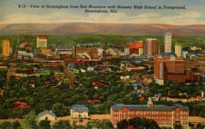AL - Birmingham. Aerial View