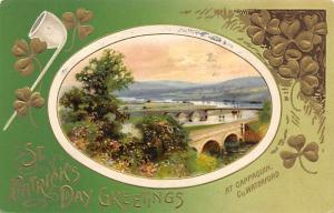 at Cappaquin Co. Waterford St. Patricks Day Postcard 1911