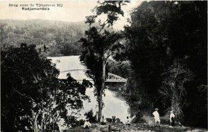 CPA INDONESIA Brug over de Tjitaroem Bij, Radjamandala (341248)