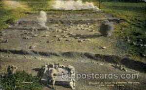 Realism in Tank Destroyer Training Camp Hood, TX, USA Postal Used Unknown, Mi...