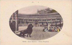 Italy Roma Rome Circo Massimo Ultima Preghiera