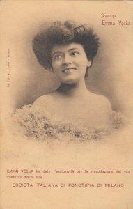 MILANO , Italy , 1900-10s : Soprano, Emma Veela