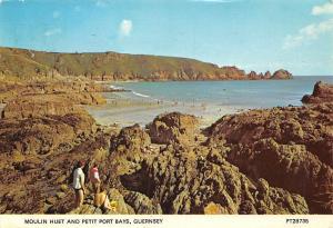C.I. Guernsey, Moulin Huet and Petit Port Bays