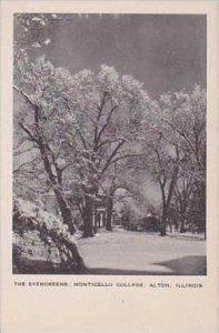 Illinois Alton The Evergreens Monticello College Artvue