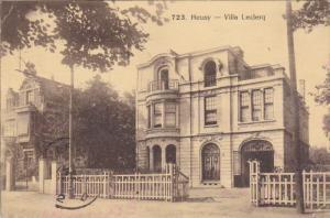 HEUSY, Belgium, 1900-1910's; Villa Leclerq