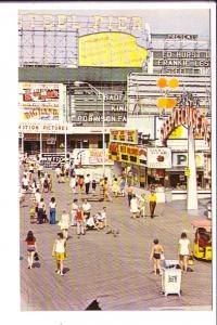 Boardwalk and Amusement Area, Atlantic City, New Jersey