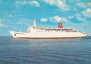 TS Hanseatic German Atlantic Line 1971