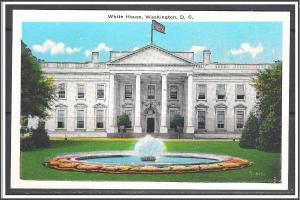 Washington DC The White House - [DC-085]