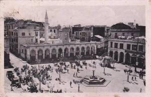 Bone now Annaba , Algeria, 1910s ; Place d'Armes et Mosquee