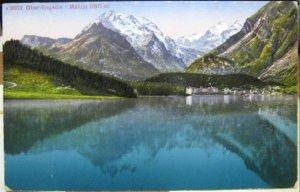 Switzerland Ober-Engadin Maloja - unposted