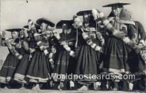 Cuzco, Peru Bailarinas de Tinta a la fiesta del Intiraimi  Bailarinas de Tint...