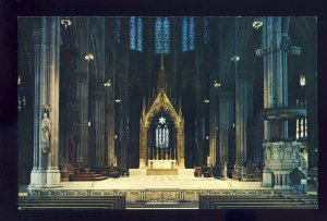 New York City, New York/NY Postcard, St Patrick's Cathedral, Sanctuary