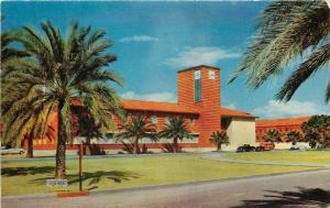 Tuscon AZ~University of Arizona~Student Union Building~1950s Postcard