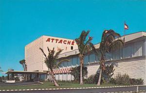 The ATTACHE Hotel , Hollywood Beach , Florida , 40-60s