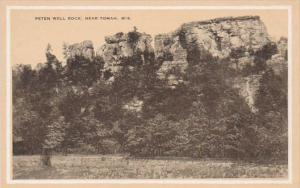 Wisconsin Peten Well Rock Near Tomah