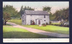 Old Macey House Amesbury Massachusetts unused c1905