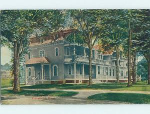 Divided-Back HOSPITAL SCENE Pittsfield Massachusetts MA W3233