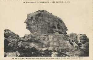 LES BAUX, France, 1910-30s ; Le Val d'Enter