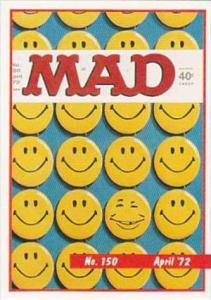 Lime Rock Trade Card Mad Magazine Cover Issue No 150 April 1972