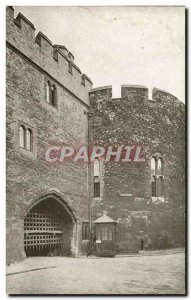 Old Postcard London Tower