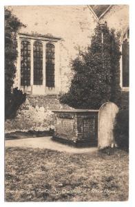 UK Stoke Poges Poet Thomas Grays Tomb Country Churchyard England Vntg Postcard
