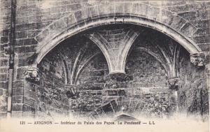 France Avignon Palais des Papes Interieur Le Pendentif